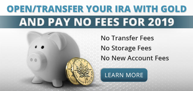 Open/transfer your IRA with gold